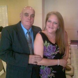 My lovely wife and I